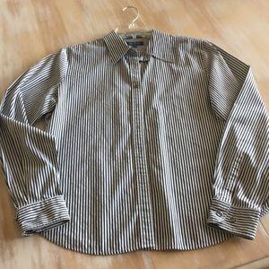 Collard button front shirt